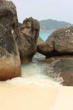 острова phuket similan Таиланд Стоковая Фотография RF