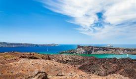 Острова Santorini Стоковые Изображения