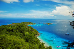 Острова Similans Таиланда Стоковые Фотографии RF