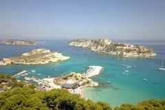 Острова Tremiti, взгляд трутня, Италия стоковое изображение rf
