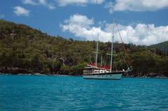 острова whitsunday стоковое изображение rf