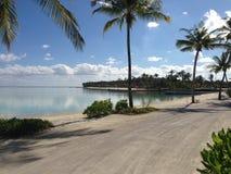 Островной курорт солнечного дня NIYAMA Мальдивов стоковые изображения