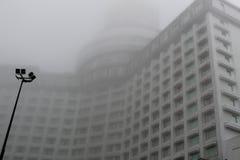 Островной курорт Genting в облаках Стоковые Фото
