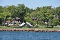 1000 островов и Кингстон в Онтарио Стоковая Фотография