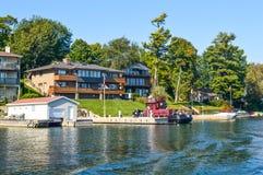 1000 островов и Кингстон в Онтарио Стоковые Фотографии RF