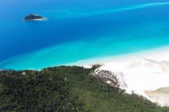 Остров Австралия Whitsunday Стоковое Изображение RF