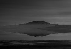 Остров антилопы, Юта Стоковая Фотография RF