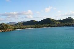 Остров ландшафта Стоковые Изображения