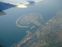 Остров ладони Дубай стоковая фотография rf