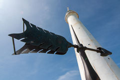 Остров Бермудских Островов маяка Стоковое фото RF