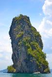 остров большой стог Стоковые Изображения