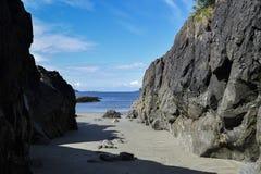 Остров ванкувер ДО РОЖДЕСТВА ХРИСТОВА Канада пляжа стоковое фото rf