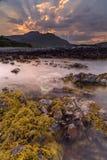 Остров восхода солнца Mull Стоковая Фотография
