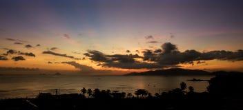 Остров Вьетнам восхода солнца стоковая фотография rf