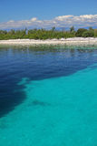 Остров в лете Стоковое Изображение RF