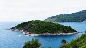 Остров в море стоковые изображения rf