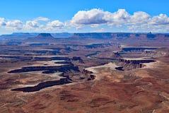 Остров в небе Национальный парк Canyonlands Юта Стоковое Фото