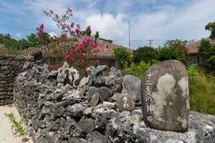 Остров в Окинаве, Япония Taketomi Стоковое Изображение
