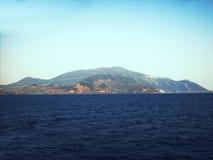 остров в Эгейском море Стоковое Фото