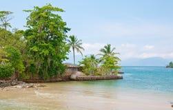 Остров в dos Reis Angra. Рио-де-Жанейро Стоковая Фотография RF