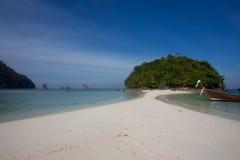 Остров в Krabi, Таиланде Стоковое Изображение
