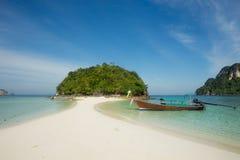 Остров в Krabi, Таиланде Стоковые Изображения