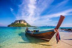 Остров в Krabi, Таиланде Стоковая Фотография