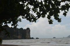 Остров в Krabi Таиланде Стоковые Фотографии RF
