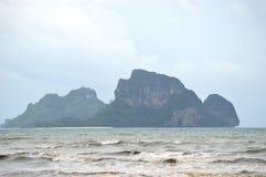 Остров в Krabi Таиланде Стоковые Изображения