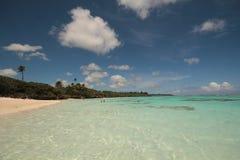 Остров в pacific Стоковая Фотография RF
