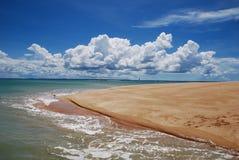 остров гавани Стоковые Изображения