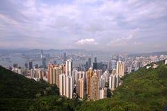 Остров Гонконга стоковые фотографии rf