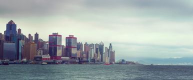 Остров Гонконг s A r Стоковое Изображение