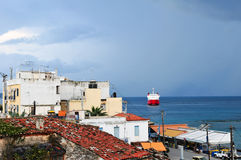 остров грека aegina Стоковое фото RF