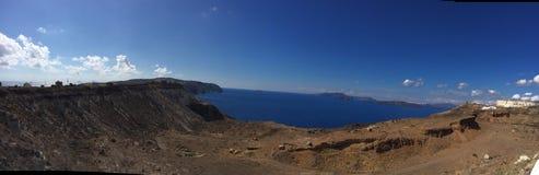 Остров Греция Santorini романтичный Стоковая Фотография RF