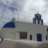Остров Греция Santorini романтичный Стоковые Изображения RF