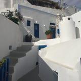 Остров Греция Santorini романтичный Стоковая Фотография