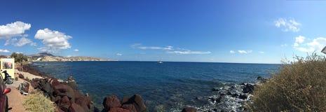 Остров Греция Santorini романтичный Стоковое Фото