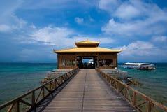 остров для того чтобы приветствовать wuzhizhou Стоковые Фото