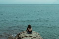 Остров девственницы, Puerto Galera Стоковое Изображение