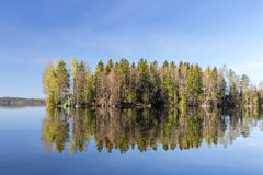 остров лета Стоковое Изображение RF