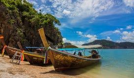 Остров Жамес Бонд, залив Таиланд Phang Nga стоковые изображения
