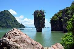 Остров Жамес Бонд (Таиланд) Стоковое Фото