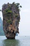 Остров Жамес Бонд Стоковое фото RF