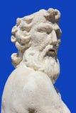 Остров Закинфа statueat Poseidon, Греция Стоковое Фото