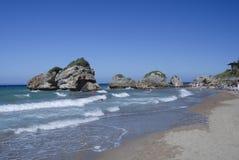 Остров Закинфа, Zante, Греция Стоковые Изображения