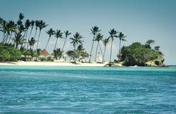 остров залива карибский, котор нужно осмотреть стоковое фото rf