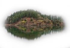 остров запруды Стоковая Фотография RF