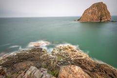 Остров иен Стоковое Изображение RF
