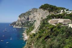 остров Италия capri Стоковое Изображение RF